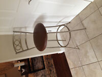 $800 Retail Yours for $200! MODERN BAR STOOLS