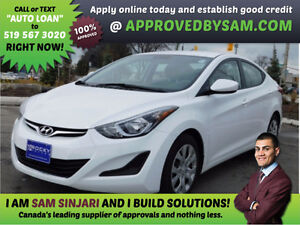 ELANTRA - HIGH RISK LOANS - LESS QUESTIONS - APPROVEDBYSAM.COM Windsor Region Ontario image 1