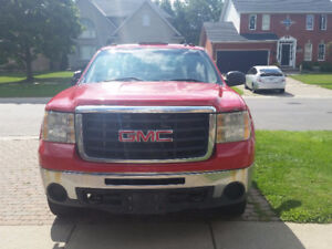 GMC Sierra 2500 Heavy Pickup Truck With Diesel Tank