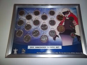 2010  VANCOUVER OLYMPIC COIN SET Strathcona County Edmonton Area image 1