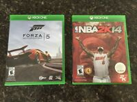 Forza 5 and NBA 2K14 Mint condition