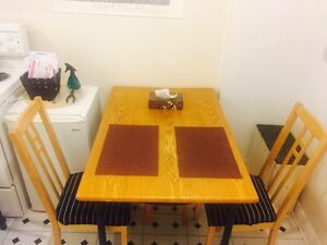 Dining wooden set . PRICE NEGOTIABLE