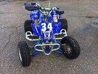 Yamaha 200cc blaster quad & trailer