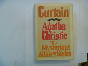 AGATHA CHRISTIE Hardcovers - several to choose from