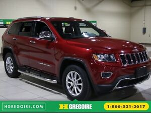 2014 Jeep Grand Cherokee Limited 4WD AUTO A/C CUIR TOIT MAGS