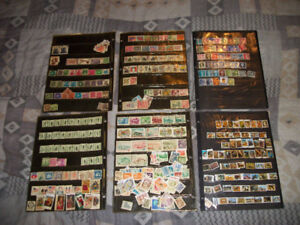 Stamp Collection w/Box