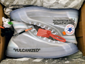Converse off white chunk taylor