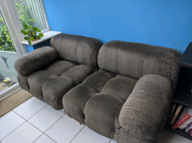 Awesome retro 1960s modular 3 seater sofa bed arm chair
