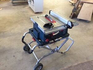 """Bosh 4100 (10"""") Table Saw with folding Stand"""