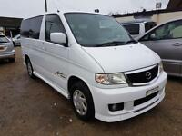 MAZDA BONGO CAMPERVAN WITH NEW SIDE CONVERSION + ROCK AND ROLL BED