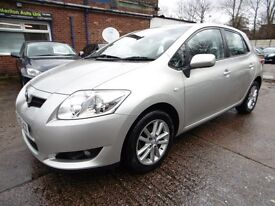 Toyota Auris 1.6 V-MATIC TR (12 MONTH MOT + LOW RATE FINANCE AVAILABLE) (silver) 2009