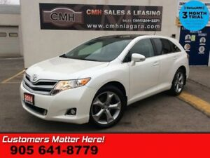2016 Toyota Venza   V6 AWD NAV ROOF LEATH CAM 20 -ALLOYS HS MEM