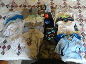 Baby Boy Clothing Lot - Sizes NB to 12 mths