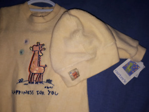 Emu Namae Carter's Baby Boy 2pc Outfit Size 3/6mts New with Tags