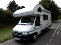 ACE Novella Milano 4 Berth 4 Belt End Kitchen Motorhome For Sale