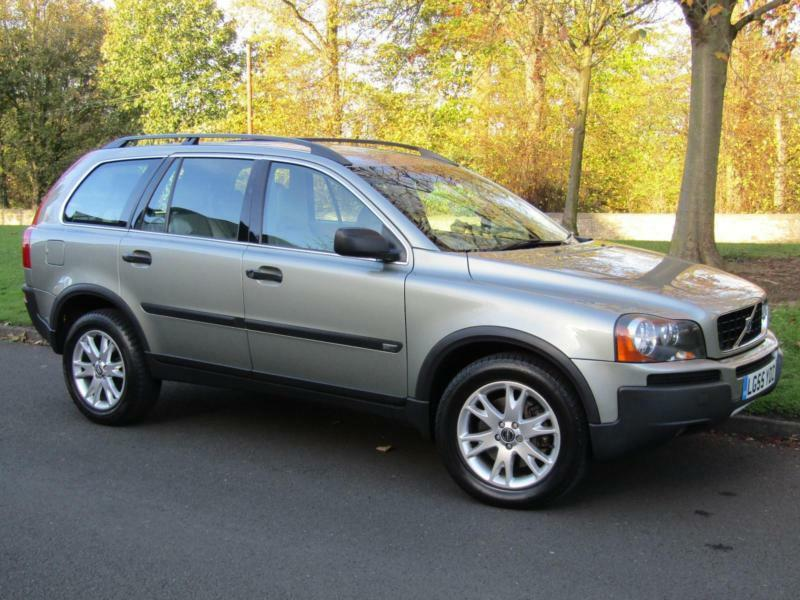 2005 55 volvo xc90 2 4 d5 se awd manual 6 speed 5 door 7. Black Bedroom Furniture Sets. Home Design Ideas