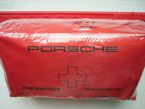 PORSCHE 911 Factory Equipped OEM FIRST AID Kit (Made in GERMANY)