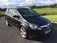 2006 Vauxhall Zafira 1.8 SRI 2 Owners From New Superb Condition Inside and Out Alloys 7 Seater MOT