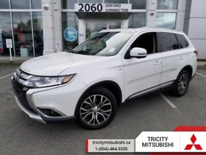 2017 Mitsubishi Outlander GT  - Leather Seats