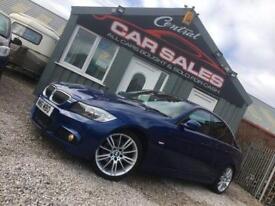 BMW 320D M SPORT PLUS EDITION AUTO LE MANS BLUE FINANCE PX WELCOME