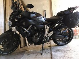 Yamaha mt07 2014 with extras