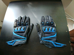 Men's motorcycle Icon compound short gloves