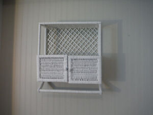 Wicker Bathroom Shelf London Ontario image 1
