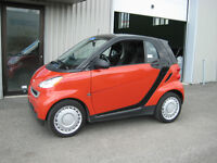 2009 Smart Fortwo PASSION+TOIT PANO+A/C+CUIR Bicorps