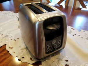 GE Stainless Steel Toaster $18 OBO