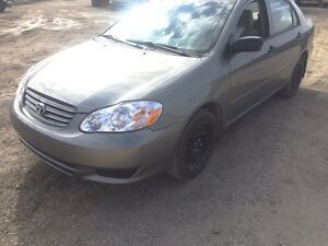 2004 Toyota corolla Ce only for $5000 private sale