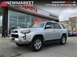 2015 Toyota 4Runner SR5   LOCAL ONE OWNER - LEATHER - SUNROOF -