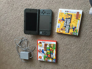 Nintendo ds 3D xl for sale with 2 games and charger