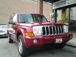 2010 Jeep Commander 4X4,NO ACCIDENT,AUTO,LEATHER,SUNROOF.$11899