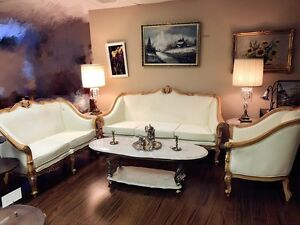 Italian Luxury Living Room Sofa Set