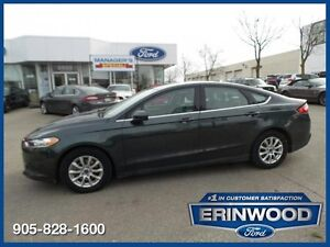 2015 Ford Fusion SONE OWNER CPO 24M@1.9%/12MO/20,000KM EXT WARR