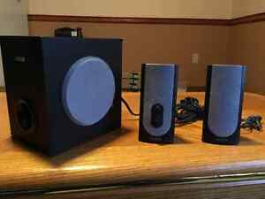 Creative Labs PC speaker set with Subwoofer