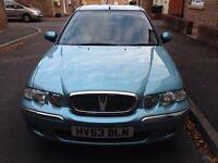 Rover 45 impression