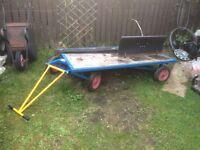 Garden cart trolley 1 ton 2x1 mtr