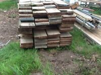 6 foot used scaffold boards and cable reel