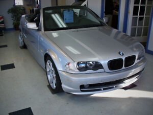 2001 BMW 3-Series 325Ci -convertible - 141000kms - Great-