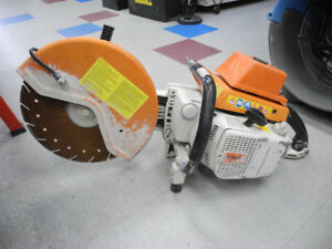 Stihl TS760 Concrete Saw **AS IS FOR PARTS/REPAIR**