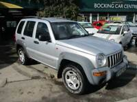 Jeep Cherokee2-8 DIESEL MANUAL 4X4 2003 EXCELLENT71000MLS