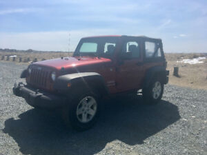 2011 Jeep Wrangler sport low kms!! For sale