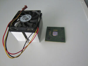 CPU - AMD Athlon XP 1800+ 1.53GHz (Heastink & Fan included) Prince George British Columbia image 1