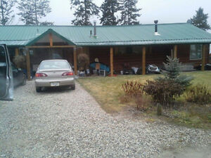 Log Home in Lumby Bc