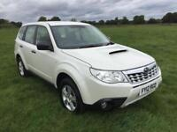 Subaru Forester X Boxer Diesel Finished In Pearlescent White