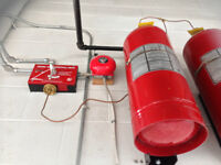 Industrial Paint Booth Fire Suppression Systems