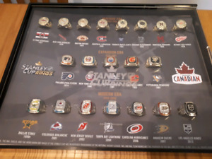 Molson Canadian Commemorative Stanley Cup Ring Set