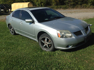 I'm selling my 2004 Mitsubishi Galant. with winter tires & rims Peterborough Peterborough Area image 4