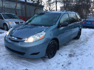 """2007 TOYOTA SIENNA CE """"NO ACCIDENT/CERTIFIED/2YRS WARRANTY INCL"""